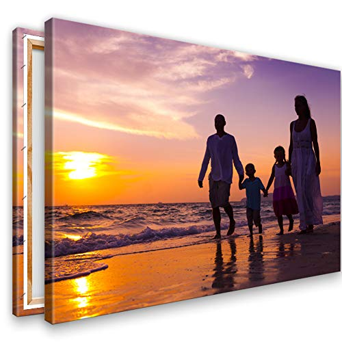 Ihr Foto auf Leinwand 120x80 cm SOFORT ONLINE VORSCHAU Ihr eigenes Bild auf Leinwand mit Keilrahmen - Wandbild mitWunschmotiv - Persönliches Kunstdruck