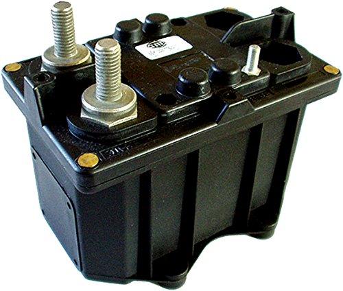 HELLA 6EK 008 776-041 Hauptschalter, Batterie - 24V - 2-polig - geschraubt - Anschlussgewinde: 1 x M5 Spule/2 x M10 Batterie
