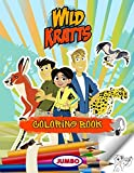 Wild Kratts coloring books
