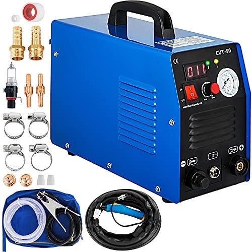 Mophorn 50Amp Plasma Cutter, 110 220V Dual Voltage Plasma Cutting Machine, Max 12MM Thickness Clean...