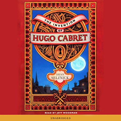The Invention of Hugo Cabret                   Written by:                                                                                                                                 Brian Selznick                               Narrated by:                                                                                                                                 Jeff Woodman                      Length: 2 hrs and 51 mins     4 ratings     Overall 4.5