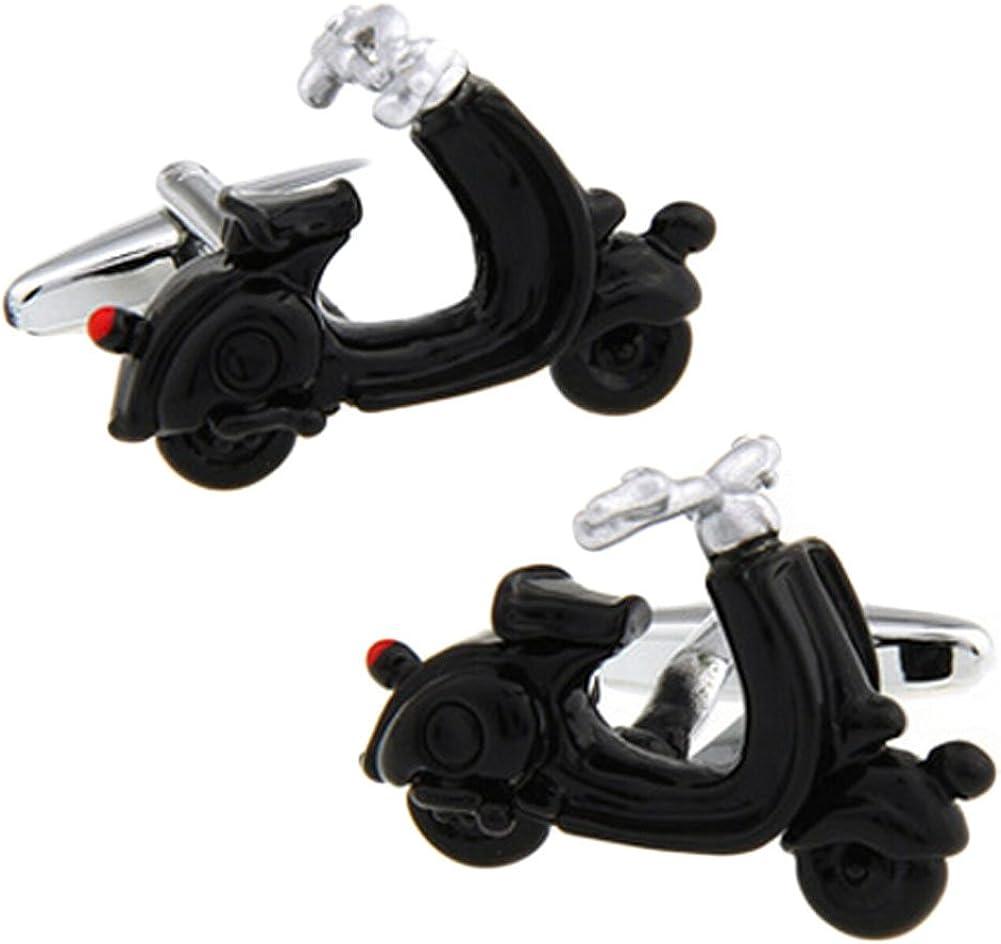 V G S Eternity Fashions Jewelry ~ Black Motor Bike Cufflinks