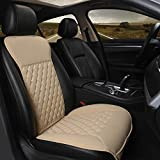 Black Panther Car Seat Cover,Breathable Universal PU Front...