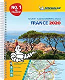 France 2020 -A4 Tourist & Motoring Atlas: Tourist & Motoring Atlas A4 spiral (Michelin Road Atlases)