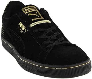 PUMA Men's Suede Metallic Fade Fashion Sneakers