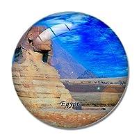 エジプトマグネットエジプトギザのピラミッド3D冷蔵庫マグネットクラフトお土産クリスタル冷蔵庫マグネットコレクショントラベルギフト
