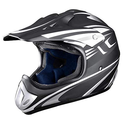 AHR DOT Outdoor Adult Full Face MX Helmet Motocross Off-Road Dirt Bike Motorcycle ATV M