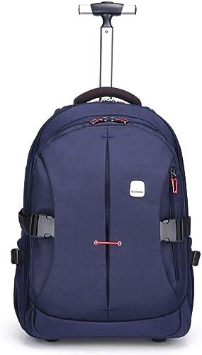 CcBeatY Wasserdichter Rollrucksack für mädchen und Jungen Schule Laptop Bücher Tasche