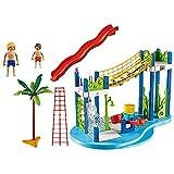 Playmobil Summer Fun Water Park Play Area Juego de construcción - Juguetes de construcción (Juego de construcción,, 4...