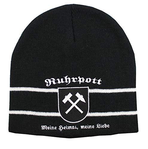 Yantec Ruhrpott mit Wappen Strickmütze Fanhut
