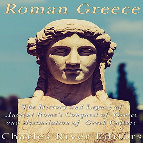 Roman Greece audiobook cover art