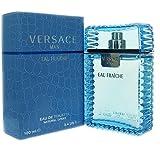 Versace Man Eau Fraiche 3.4 oz Eau De Toilette Spray NIB