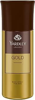 Yardley London Gold Body Spray For Men, 150ml