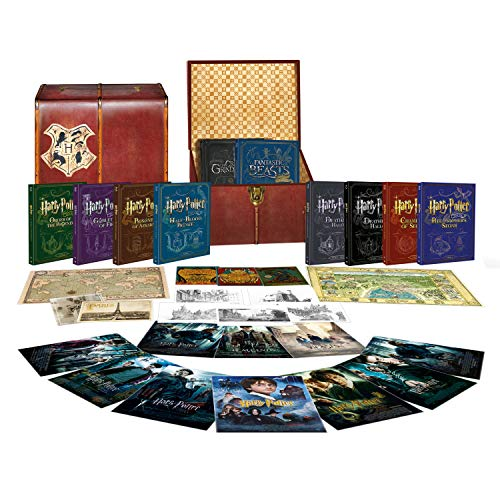 Wizarding World: [10 Film Collection] [Harry Potter/Fantastic Beasts] [Limited Edition Trunk Boxset] [Blu-ray] [2001] [2019] [Region Free] (Amazon Exclusive)
