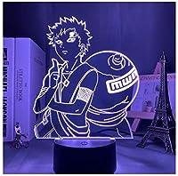 3Dイリュージョンナイトライト ひょうたんの少年 キッズ3D目の錯覚7色LEDナイトライトボーイキッズおもちゃベビースリープデスクランプ寝室の装飾誕生日クリスマスクリエイティビティギフト