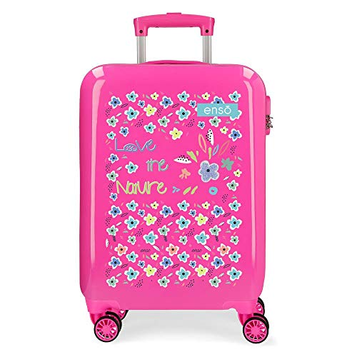 Enso Love The Nature Cabin Suitcase 38 x 55 x 20 cm, pink (Pink) - 9121722