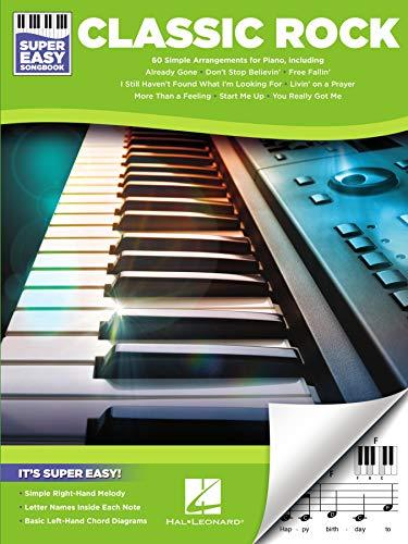 Classic Rock - Super Easy Piano Songbook (Super Easy Songbooks)