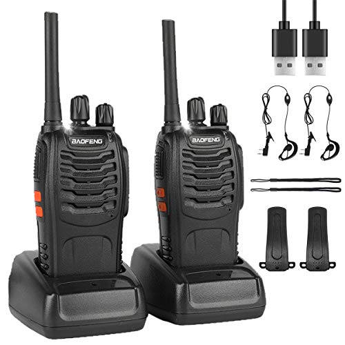 BF-88E Walkie Talkies Rechargeab...