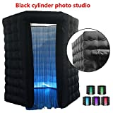 Dyrabrest 2.5M Inflatable LED Light Photo Booth Tent Single Door for Party Birthday Wedding