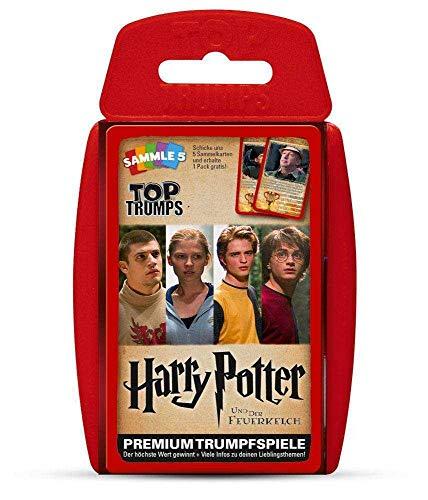 Winning Moves WIN62813 H.P Nein Top Trumps: Harry Potter und der Feuerkelch, Spiel, Trumpfspiel