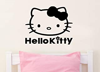 Imprinted Designs Hello Kitty Inspired Wall Decal Sticker Art Mural