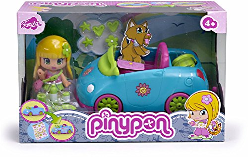 Pinypon Figura con Coche (Famosa 700010682)