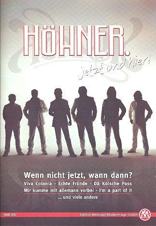 JETZT UND HIER - arrangiert für Songbook [Noten / Sheetmusic] Komponist: HOEHNER