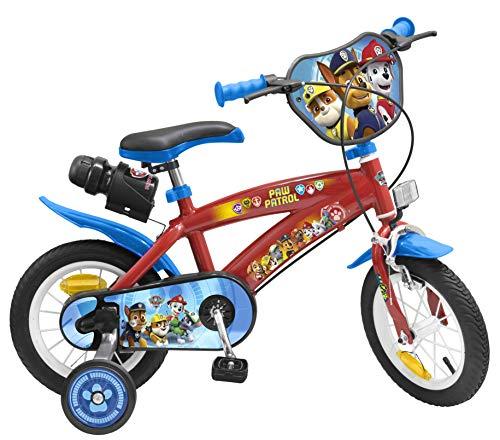 Toimsa Paw Patrol Vélo pour Enfant sous Licence la Pat'Patrouille 12 Pouce de 3 à 5 Ans, 1272U