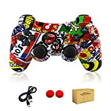 dainslef PS3 Controller Wireless Dualshock Remote/Gamepad for Sony Playstation 3 Bluetooth PS3 Sixaxis Joystick with...