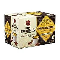 Don Francisco Family Reserve Cinnamon Hazelnut, Single Serve Coffee, 12 Count