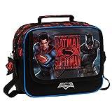 Warner Superman-Batman Neceser de Viaje, 4.14 litros, Color Gris