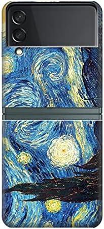 R0213 Van Gogh Starry Nights Case Cover for Samsung Galaxy Z Flip 3 5G