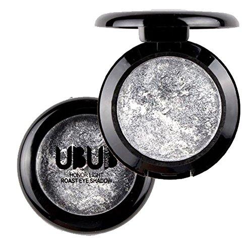 Frashing Eyeshadow Palette Schimmer Glitter Lidschatten Einzelne gebackene Lidschatten Pulver Palette Schimmer metallische Lidschatten-Palette Highlighter-Stick Glitter Eyeliner