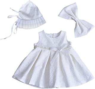 zhxinashu Princess Dresses Christening Gowns Birthday Newborn Clothing Children Wear