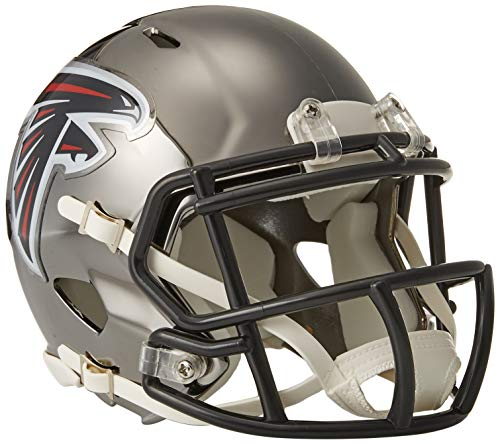 Riddell Mini Football Helm - NFL Chrome Atlanta Falcons
