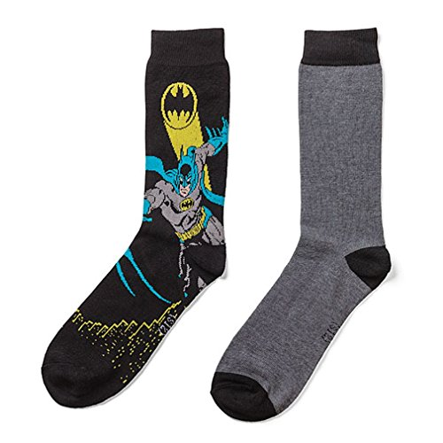 DC Superhero Crew Socks 2-pack - Batman