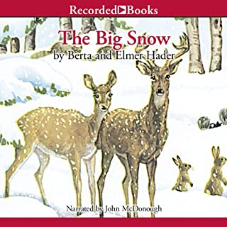 The Big Snow                   By:                                                                                                                                 Berta Hader                               Narrated by:                                                                                                                                 John McDonough                      Length: 17 mins     5 ratings     Overall 4.2