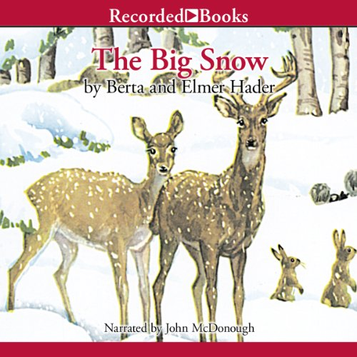 The Big Snow audiobook cover art
