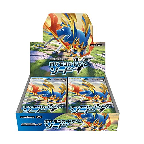Pokemon Card Game Sword & Shield Expansion Pack Sword Box (Best Sword In Terraria Ios)