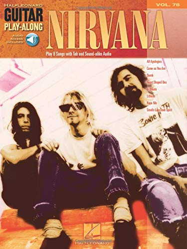 Nirvana: Noten, CD, Tabulatur für Gitarre (Guitar Play-Along, Band 78)