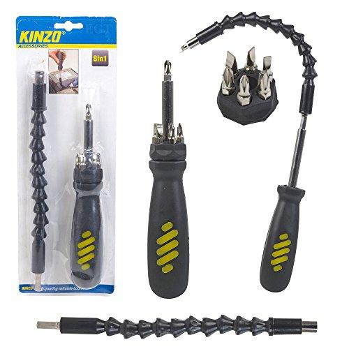 Kinzo 8in1Flexibler Schraubendreher Set