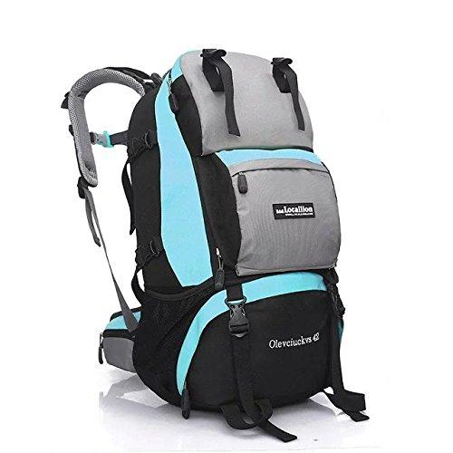 Professional prend en charge, sac à dos sac à dos outdoor Kit 42L l voyage d'escalade , light blue