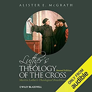 Luther's Theology of the Cross copertina