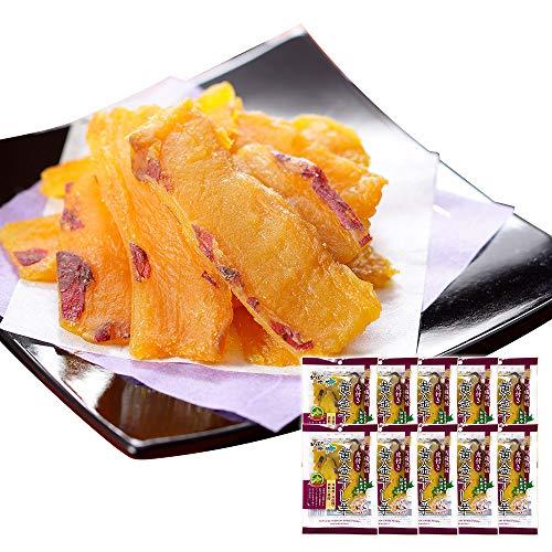 干し芋 皮付き 紅はるか 無添加 黄金 干し芋 国産 Amazon 限定 10袋 セット 北国からの贈り物