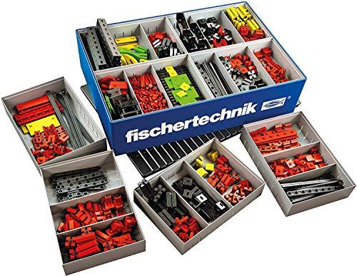 fischertechnik 554195 Creative Basic – Una Vasta Gamma di contenuti: 630 componenti, Una Piastra di Base, Una Scatola 1000 e Il Sistema di conservazione Flessibile