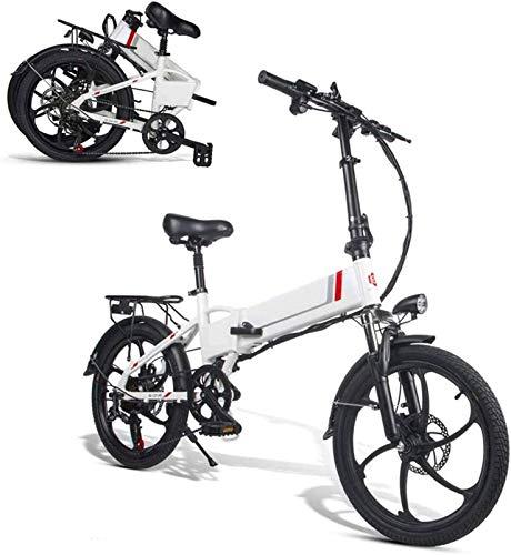 Bicicletas Eléctricas, 20inch bicicleta eléctrica, plegable bicicleta eléctrica for adultos 350W 48V Motor urbana plegable de cercanías E-Bici Ciudad de bicicletas Velocidad máxima 32 kmh capacidad de