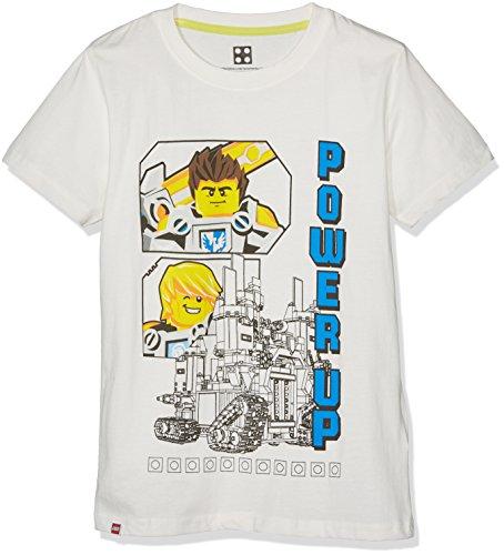 LEGO Jungen M-71170 Unterhemd, Weiß (Off White 102), L
