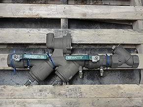 Watts 2-919-QT Bronze Backflow Preventer Valve, 2