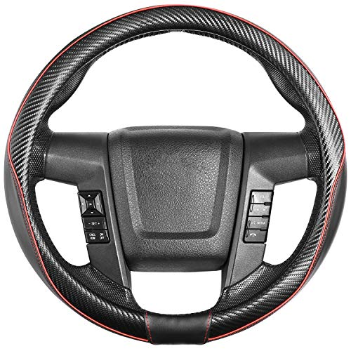 SEG Direct Car Steering Wheel Cover Tamaño Grande Para F150