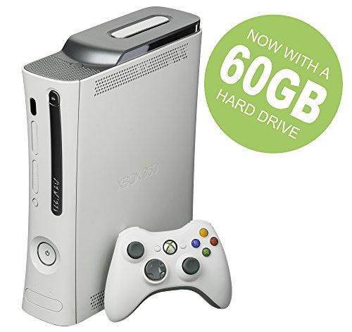 Microsoft Xbox 360 Go Pro Consola Bundle (Jaspe blanco original y raro)